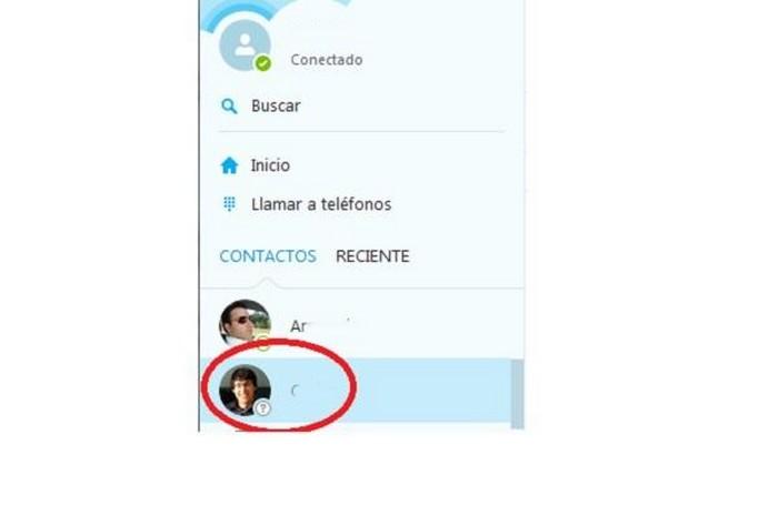 cómo saber si te han bloqueado en Skype