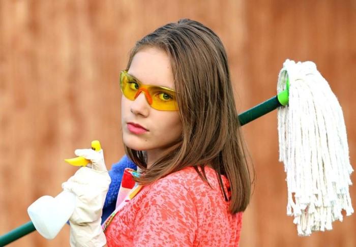 limpiar persianas